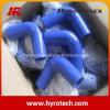 Reductor de 90 grados Silicona manguera de codo / manguera de silicona para automóviles