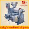 Cosechadora Peanut Oil Machine con Oil Filter