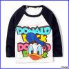 Constructeurs imprimés mignons de T-shirts de coton du chevreau T-Shirt/100% de canard de Donald