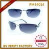 Dos óculos de sol Rimless de Cazal do metal de FM14035 óculos de sol piloto Rayman
