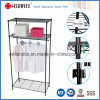 Chrome 조정가능한 침실 Closet Garment Rack 또는 Metal Wardrobe Rack (CJ-B1133C)