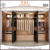 Шкаф Gateless спальни конструкции просто дешевой сельской местности деревянный