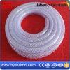 Tuyau tressé de fibre de PVC de prix concurrentiel