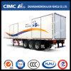 Cimc Huajun 3axle Van/Box Trailer mit Inside Locks