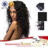2015新しい品質の卸売の方法深い波100%の人間のブラジルのバージンの毛