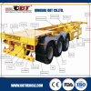 20FT 2 Axle Skeletal Semi Trailer с 35ton