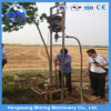 중국 공급 작은 가솔린 힘 유압 50m 깊은 드릴링 리그