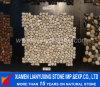 Белое Pebble Tile на Mesh для Decoration