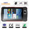 7 pouces Android Rugged IP65 Industrail Biometric Fingerprint Machine avec le lecteur de RFID de Hf/UHF (A370)