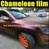 Chameleon lucido Car Wrap Film con Air Free Bubbles