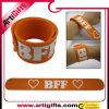 Wristband divertente del silicone personalizzato modo
