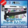 Dx7 Printer com Epson Dx7 Head -- Sinocolor Sj-740I, 1.8m Size