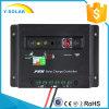 regulador solar del descargador del cargador de 20A 12V/24V con el estatus 20I de la carga de batería del indicador del LED