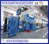 Cadena de producción de extrudado del cable de la Piel-Hacer espuma-Piel de la alta precisión