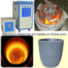 Fornalha de derretimento Wh-VI-40kw do aquecimento da indução pequena do ferro de IGBT 5kg