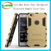 Caja de parachoques a prueba de choques resistente del teléfono de Kickstand del hombre del hierro