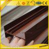 Hoja de aluminio vendedora caliente del grano de madera