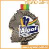 スポーツ会合のためのカスタム旧式な青銅色の金属メダル