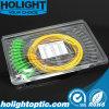 Amarillo óptico de la coleta de fibra del Sc APC de 12 bases