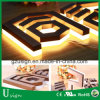 Cartas de canal publicitarias puestas a contraluz al aire libre de las muestras de la alta calidad LED