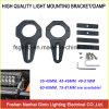 suporte de alumínio da barra clara do diodo emissor de luz do preto de 45-49mm meio (SGX45)