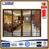 Алюминиевая и одиночная двойная стеклянная раздвижная дверь для пакгауза