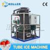 Grande capacidade de 10 toneladas de tubo de gelo com sistema de controle de PLC