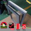 Inclinação da cor do alemão UPVC da energia e volta de madeira eficientes Windows