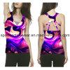 중국제 형식 디자인 v 목 짧은 소매 Cottot 주문 여자 t-셔츠