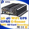 Scuolabus DVR mobile dell'automobile del veicolo di Ahd 4CH 3G 4G WiFi GPRS GPS HDD