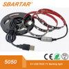 USB 5V LED 텔레비젼 역광선 LED 악센트 빛 USB 비스듬한 점화