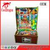 Máquina de jogo do entalhe de Mario do metro