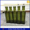 500ml Marasca hellbraune Olivenöl-Glasflasche mit Aluminiumschutzkappe