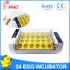 Ovos do controle de temperatura automática 24 de Hhd para a venda Yz-24A