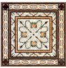 Water Jet Marble Medallion, Granite Waterjet Medallion, Mosaic