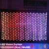 Des LED-video Trennvorhang-/LED Stern-Trennvorhang Anblick-Hochzeits-des Trennvorhang-/LED