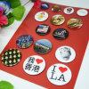 Insigne de Pin de modèle d'OEM de promotion de propriétaire/jeu rond d'insigne en métal de bouton
