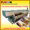 3.2m Wide Flex Banner Outdoor Printer (infinitiまたは挑戦者、4または6セイコーヘッド)