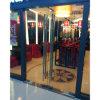 Porte d'oscillation en verre de Frameless de la qualité Kz042 avec le traitement de Tublar