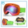 Framelessの大人の紫外線3つの層の泡のスノーボードのゴーグル