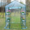 PVC 덮음 정원 Steeple 온실에 있는 Outsunny 작은 휴대용 도보