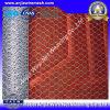 セリウム、SGS、RoHSは示す高い抗張電流を通されたPVCによって塗られる六角形の金網(Anjia-106)を