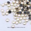 Shine Piedra Strass uñas de metal con borde de diamantes de imitación de plata con borde de oro Piedra (HF-ES10 / 3 mm)