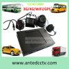 Azionamento duro di WiFi in CCTV DVR e 4 macchina fotografica di HD 1080P dell'automobile per sistema di sorveglianza del CCTV del crogiolo di tassì del camion dello scuolabus il video