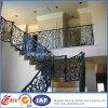 Inferriate residenziali eleganti del ferro saldato di sicurezza (dhrailings-28)