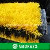 Colore giallo della moquette di resistenza al fuoco delle mattonelle del tappeto erboso