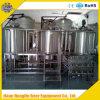 equipamento da fabricação de cerveja de cerveja da cervejaria do aquecimento de vapor 10bbl para a venda