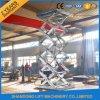 O MERGULHO quente galvanizou o elevador elétrico hidráulico da associação com Ce