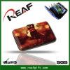 Бумажник владельца карточки удостоверения личности нестандартной конструкции металлический алюминиевый