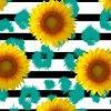 Impression 0903 de Digitals de tissu en soie de mode